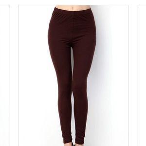 Pants - CHOCOLATE LEGGINGS